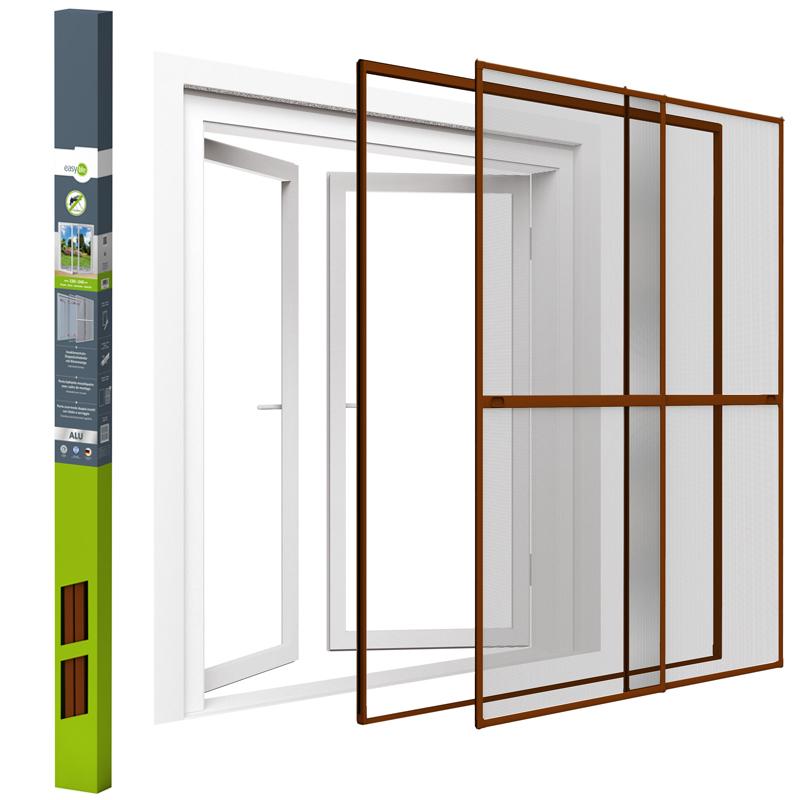 Insect screen door aluminium frame fly grid roller door for Roller fly screens for patio doors