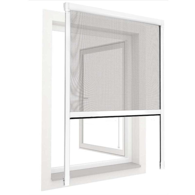 insektenschutz rollo aus pvc fliegengitter fenstergitter insekten gitter fenster ebay. Black Bedroom Furniture Sets. Home Design Ideas