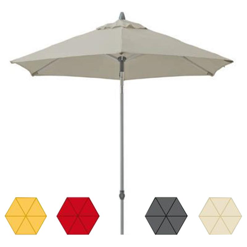 suncomfort sonnenschirm push up by glatz rund und eckig alu alumast gartenschirm ebay. Black Bedroom Furniture Sets. Home Design Ideas