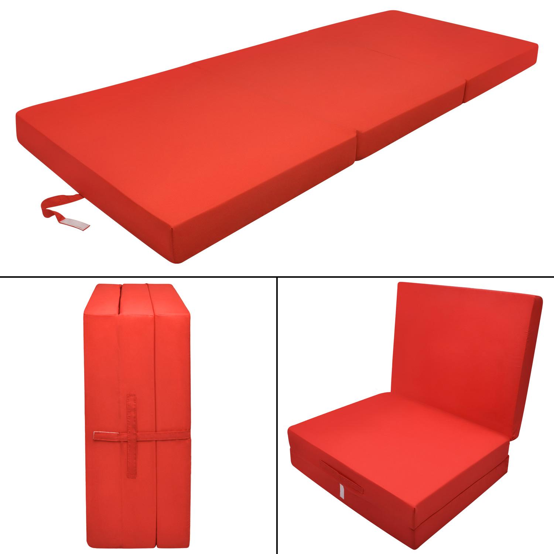 klappmatratze 195 x 80 x 10 cm notbett g stematratze reisematratze faltmatratze ebay. Black Bedroom Furniture Sets. Home Design Ideas