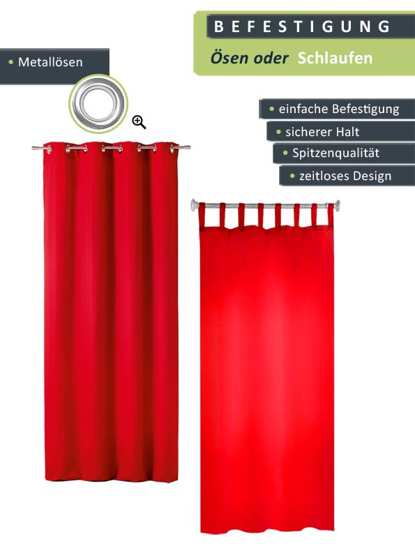 gardine mit sen oder schlaufenbefestigung 140x260cm vorhang ebay. Black Bedroom Furniture Sets. Home Design Ideas