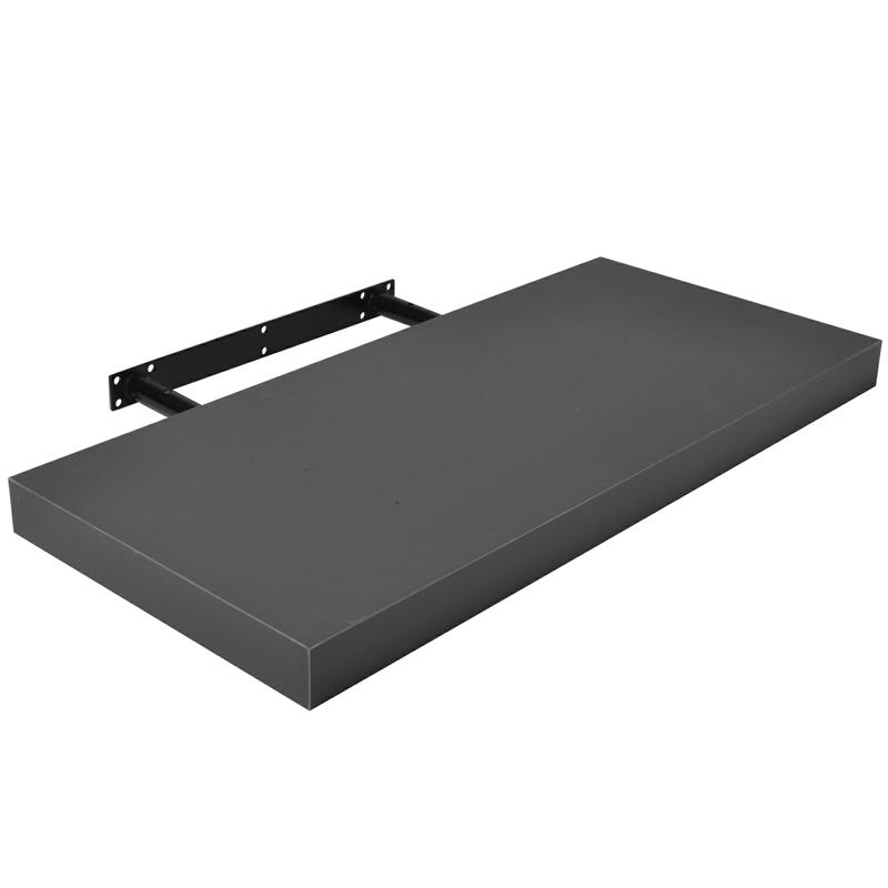 wandregal 50x22 8 cm h ngeregal b cherregal wandboard freischwebend cd dvd regal ebay. Black Bedroom Furniture Sets. Home Design Ideas