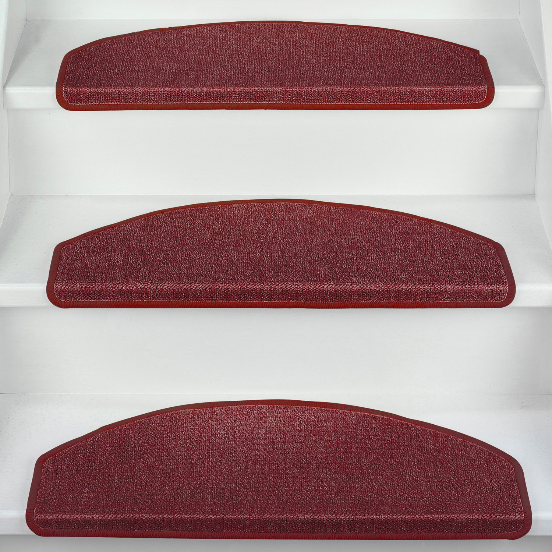 stufenmatten 15er set gro o klein treppenmatten treppenteppich treppenschoner ebay. Black Bedroom Furniture Sets. Home Design Ideas