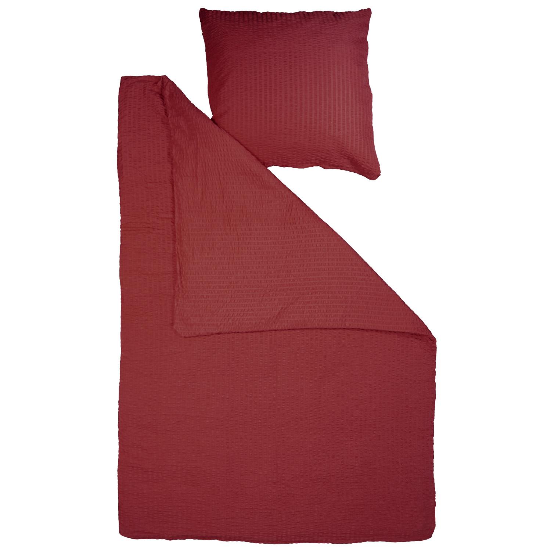 seersucker microfaser bettw sche 155x220 bettbezug 2 od. Black Bedroom Furniture Sets. Home Design Ideas