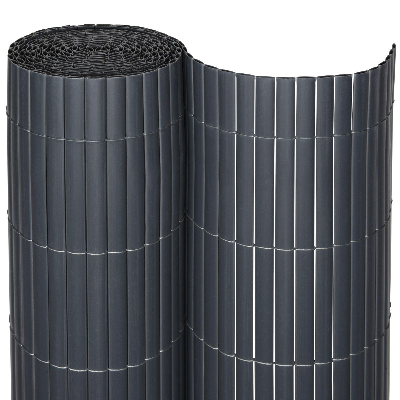 pvc sichtschutzzaun balkon zaun garten sichtschutzmatte windschutz sichtschutz ebay. Black Bedroom Furniture Sets. Home Design Ideas