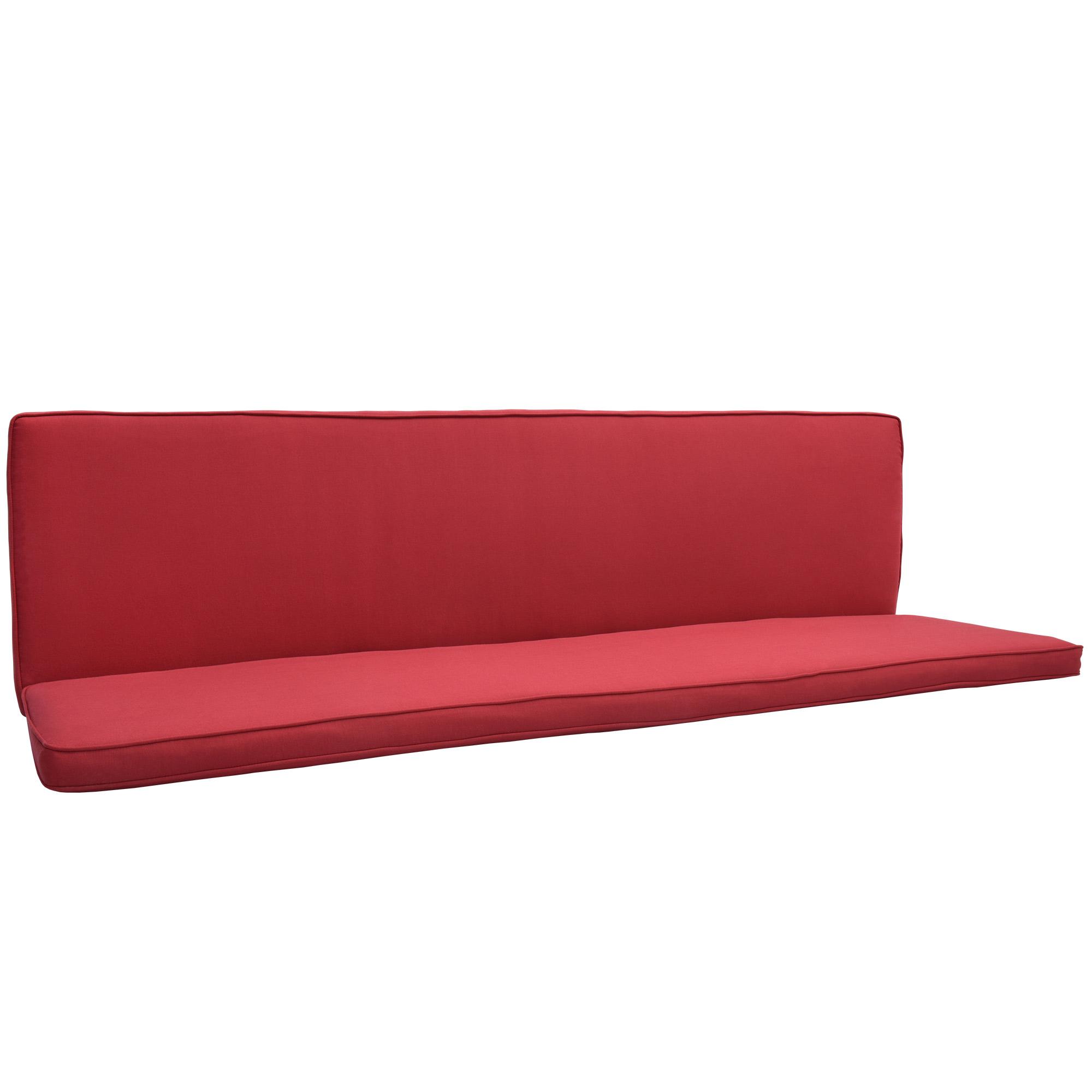 auflage polster kissen f r hollywoodschaukel 180 cm bankauflage polsterauflage ebay. Black Bedroom Furniture Sets. Home Design Ideas