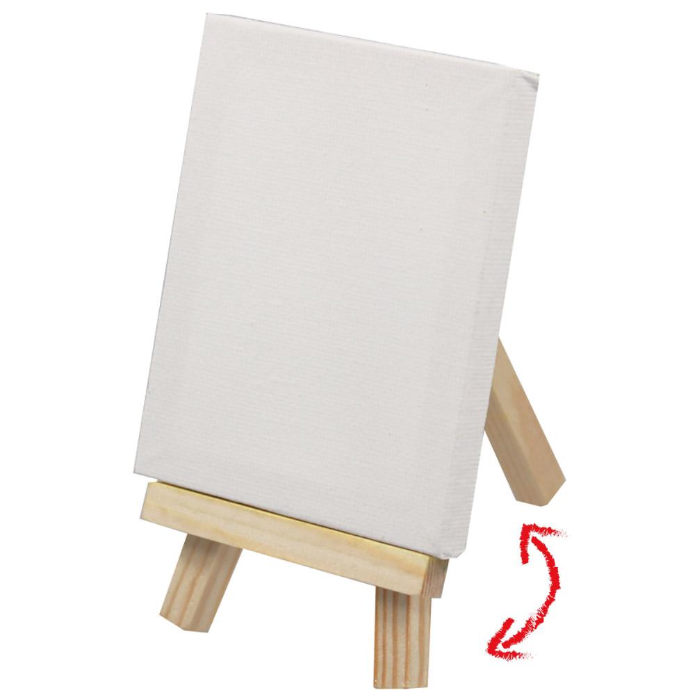 Mini Staffelei kleine Tischstaffelei Holz Standstaffelei Keilrahmen Aufsteller