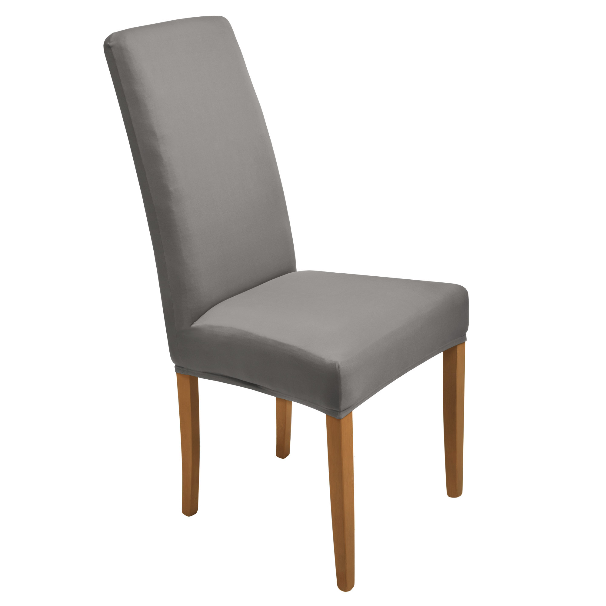 stuhlhussen anthrazit stretch hussen universell stuhlbezug stuhl berzug grau ebay. Black Bedroom Furniture Sets. Home Design Ideas