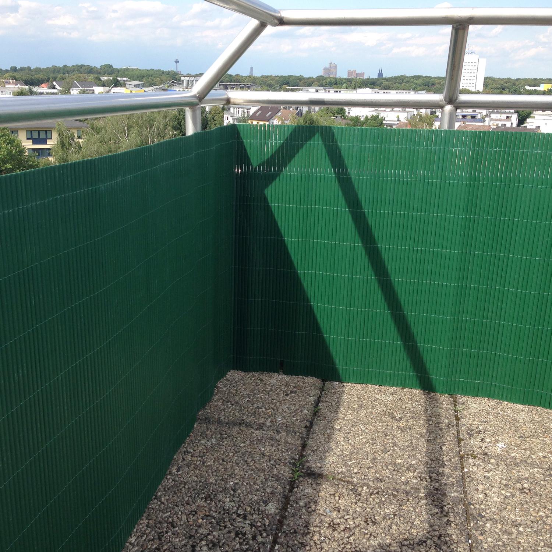 Sichtschutzzaun Garten Balkon PVC Sichtschutzmatte Windschutz