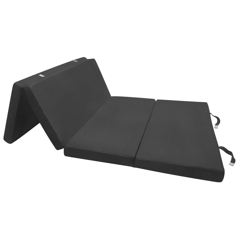 klappmatratze g stematratze 195x120x7cm schwarz. Black Bedroom Furniture Sets. Home Design Ideas
