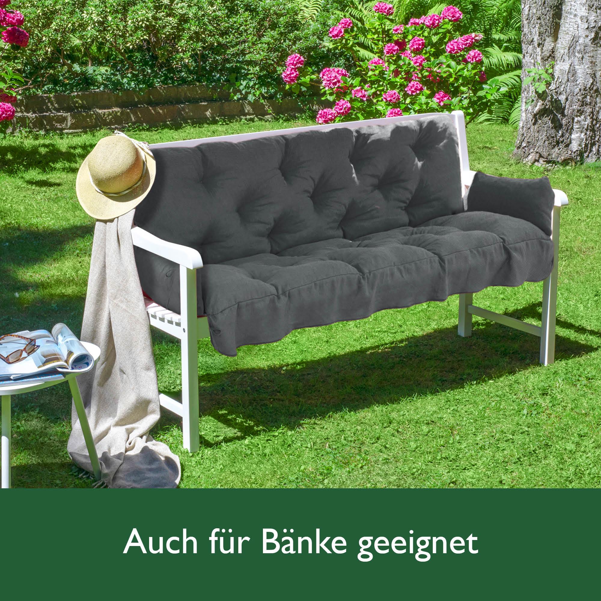 auflage f r hollywoodschaukel 180 cm kissen sitzkissen polster polsterauflage ebay. Black Bedroom Furniture Sets. Home Design Ideas