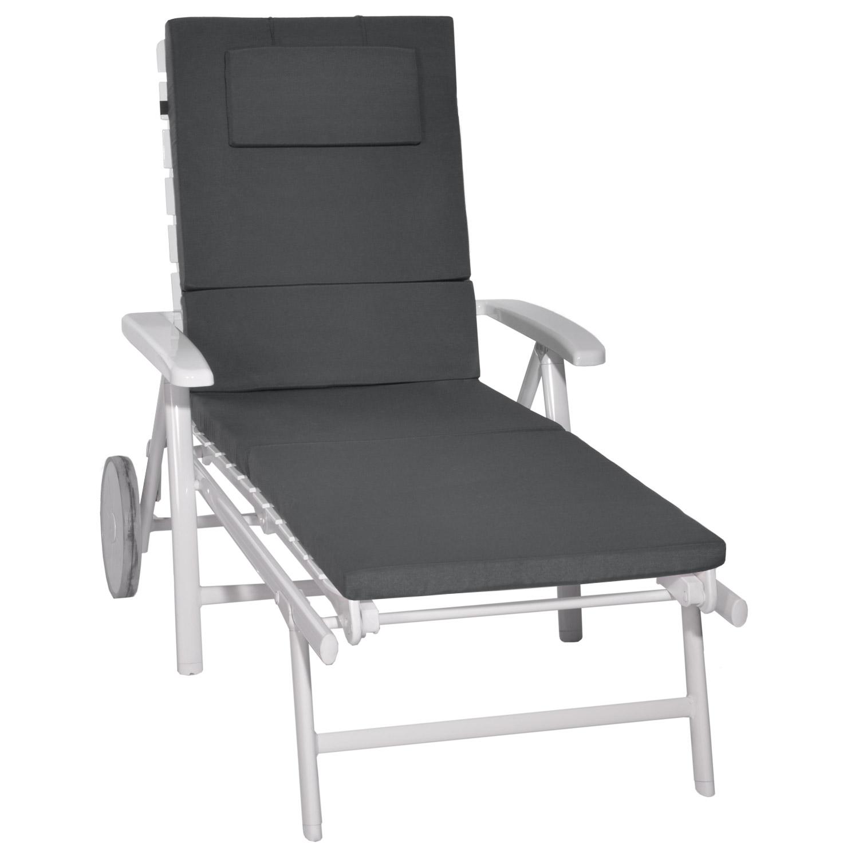 liegenauflage gartenliege auflage kissen polster f r rollliegen liegestuhl liege ebay. Black Bedroom Furniture Sets. Home Design Ideas