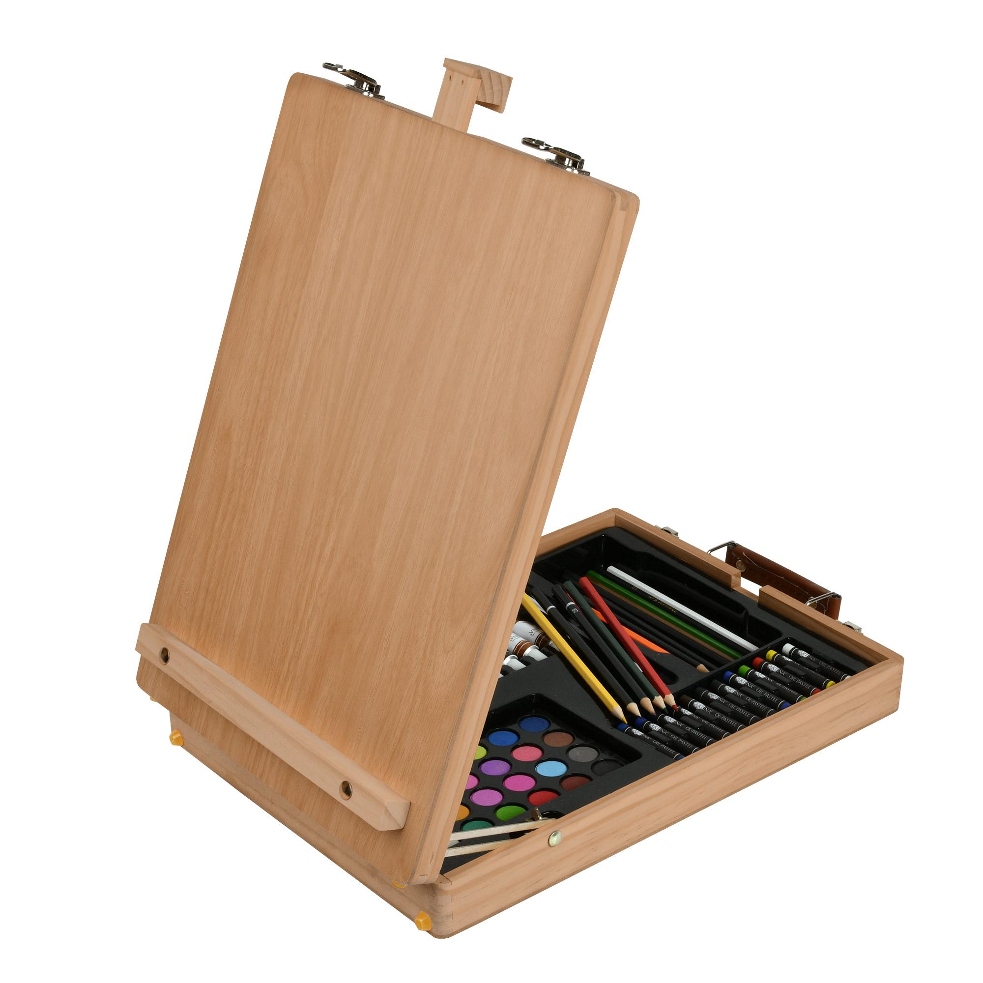 Koffer Staffelei Holzstaffelei Tischstaffelei Malkoffer Künstler