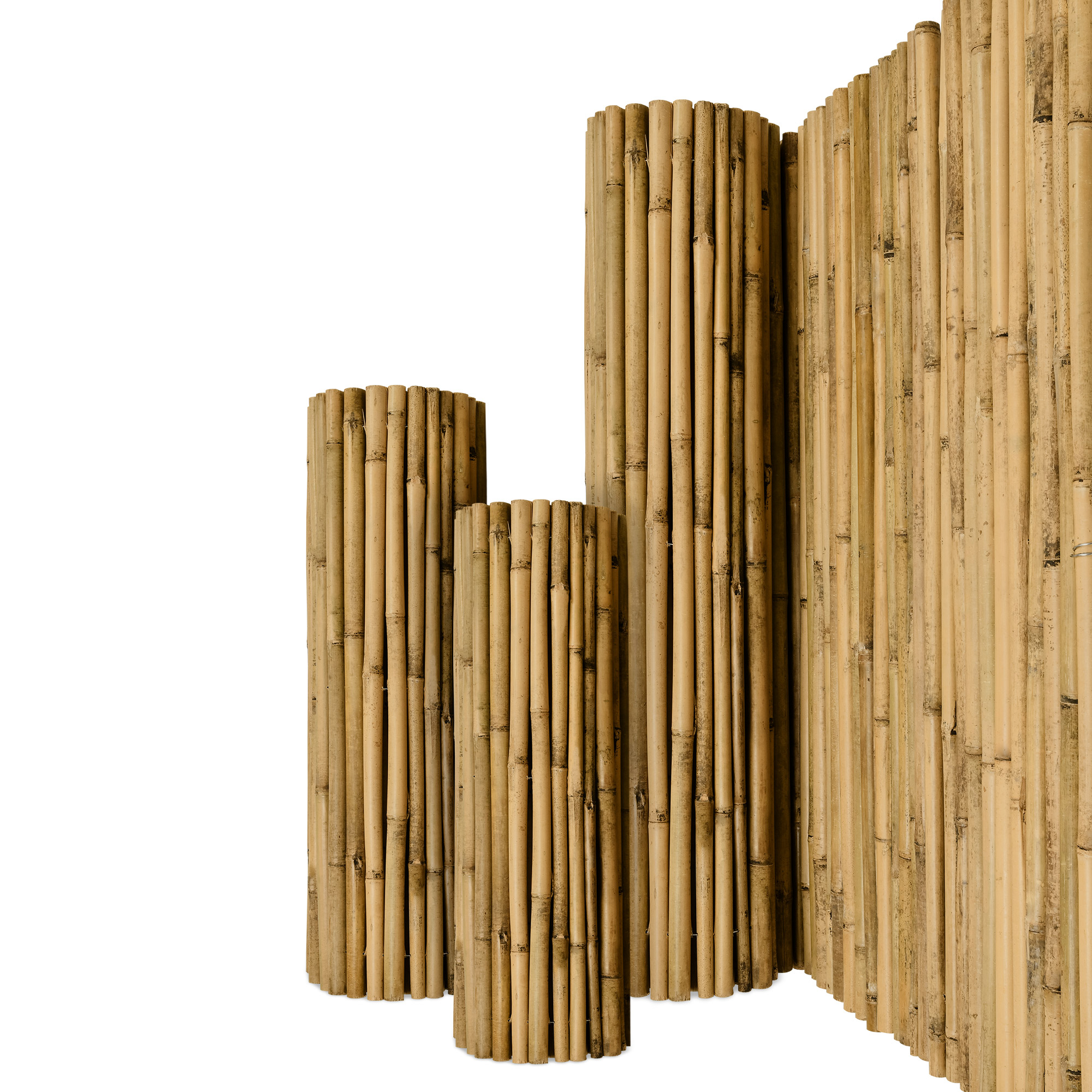 Sichtschutzzaun Bambus Sichtschutz Sichtschutzmatte Bambusmatte
